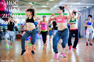 Học nhảy zumba tại nhà cùng Nam01
