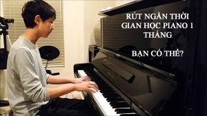 học đánh đàn piano tại nhà