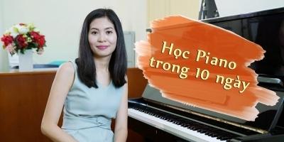 Khóa Học Đàn Piano Online Tại Nhà Trong 10 Ngày